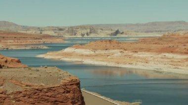 Time Lapse of Desert River — Stock Video