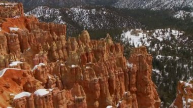 Pan of Bryce Canyon — Stock Video