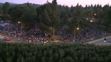 Gathering Crowd — Stock Video