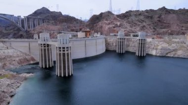 Time Lapse of Hoover Dam — Stock Video #16961503