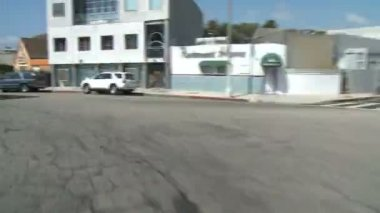 Time lapse of Driving in Los Angeles - Roof Mounted Camera — Stock Video