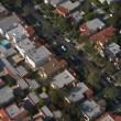 Aerial View of Los Angeles Suburbs California — Stock Video