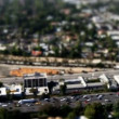 Aerial View of Los Angeles Freeway Suburbs California — Stock Video