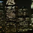 Stock Video: Tilt Shift - Downtown Los Angeles Skyline