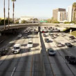 Downtown Los Angeles Freeway - Time Lapse — Stock Video #17206871