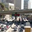 Downtown Los Angeles Freeway - Time Lapse — Stock Video