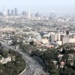 Stock Video: Downtown Los Angeles Freeway