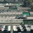 LA City Freeway Traffic — Vidéo