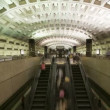 Washington DC Metro Rail,Subway - Stock Photo