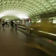 Stock Video: Washington DC Metro Rail,Subway