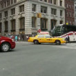 NYC Intersection Street Traffic - Time Lapse — Vidéo #17978661