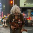 Times Square Street Performer — Stock Video #17979429