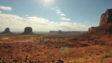 Monument Valley Sunrise Time Lapse — Stock Video