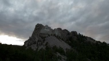 Mount Rushmore - Time Lapse — Stock Video