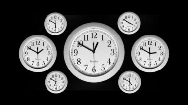 Time Lapse - Clocks — Stock Video