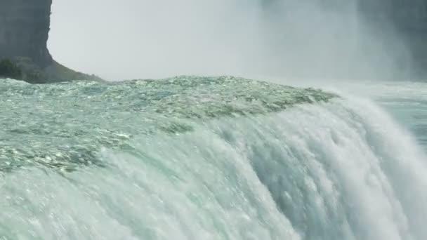 Las Cataratas del Niágara, cámara lenta — Vídeo de stock