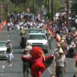 4th of july Parade - Time Lapse - Stock Photo