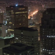 Above a Big City - Time Lapse - San Francisco - Foto Stock
