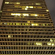 Building at Night Time Lapse - Tilt Shift — Stock Video