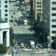 San Francisco Downtown Traffic - Time Lapse - Stock fotografie
