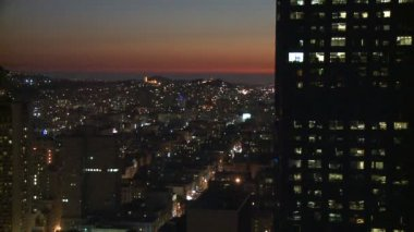 San Francisco - Sunset Building — Vídeo Stock