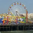 Santa Monica Pier - Time Lapse — Stock Video