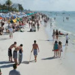 Time Lapse - Fort Myers Beach - Stockfoto