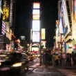 NYC Times Square Time Lapse - Stock Photo