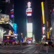 NYC Times Square Time Lapse — Stok video