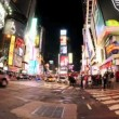 NYC Times Square Time Lapse — Stock Video