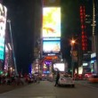 Stock Video: NYC Times Square Time Lapse