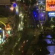 Las Vegas Strip Traffic - Time Lapse — Stock Video