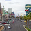 strip di Las vegas - lasso di tempo — Video Stock