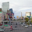 Zoom Las Vegas Strip - Time Lapse - Stock Photo
