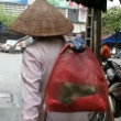 Street Vender In Vietnam Asia - Stock Photo