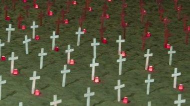 Savaş anıtı — Stok video