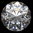 Shiny diamond with clipping path - Foto Stock