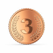 3d medal — Stock Photo