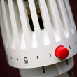 Radiator thermostat — Stock Photo