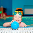Child in swimming pool — Stock Photo #13564833