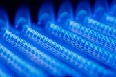 Fiamma gas — Foto Stock