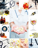 Medical collection — Stock Photo