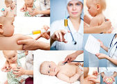 Pediatrics collection — Stock Photo