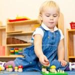 Child at nursery — Stock Photo