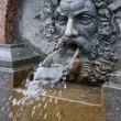 Bas-relief fountain in St. Petersburg, Russia — Stock Photo
