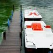 Pedal boats — Stock Photo #13739288