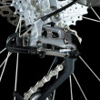Stock Photo: MTB rear derailleur