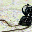 Compass on map — Stock Photo #13739644