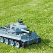 Tiger tank model — Stock Photo