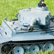 Tiger tank model - Stock Photo